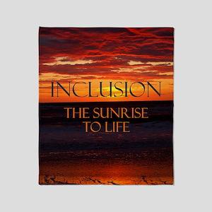 sunrise-a Throw Blanket