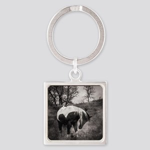 My Horse My Friend My Passion3 Square Keychain