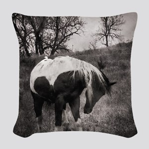 My Horse My Friend My Passion3 Woven Throw Pillow