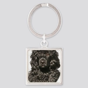 Portuguese Water Dog 9Y522D-037 Square Keychain