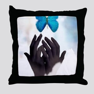 JUST LET GO Throw Pillow