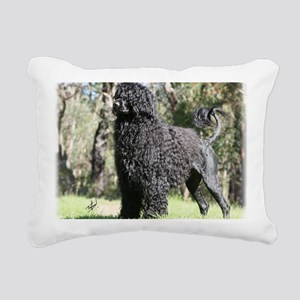 Portuguese Water Dog 9Y5 Rectangular Canvas Pillow