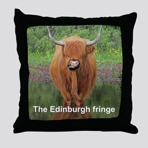 Edinburgh fringe Throw Pillow