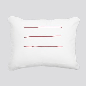 I fly planes-white Rectangular Canvas Pillow