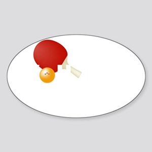 gotservedTabletennis2 Sticker (Oval)