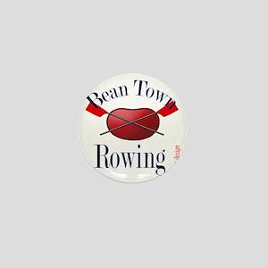Bean Town Rowing Mini Button