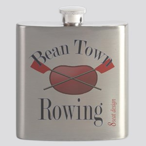 Bean Town Rowing Flask