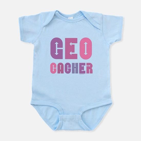 Geocacher Arrows in Pinks Infant Bodysuit
