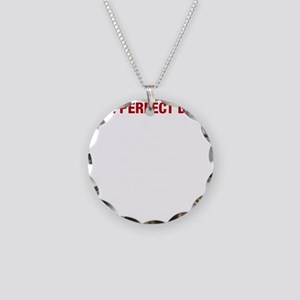 Perfect Day White Necklace Circle Charm