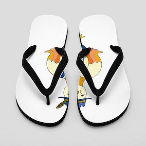 oct210dark Flip Flops