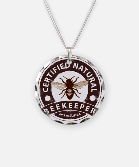 Certified Natural Beekeeper Necklace