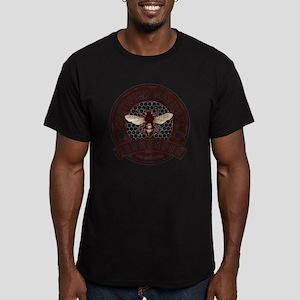 Certified Natural Beek Men's Fitted T-Shirt (dark)