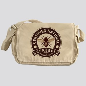Certified Natural Beekeeper Messenger Bag