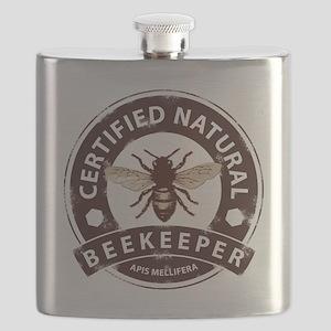 Certified Natural Beekeeper Flask