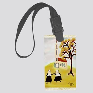 LOVE THY SISTERgreeting Large Luggage Tag