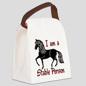 StablePersonLt Canvas Lunch Bag