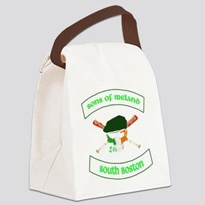 master logo southie Canvas Lunch Bag