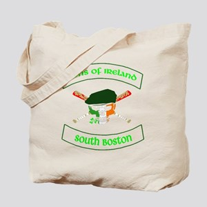 master logo southie Tote Bag