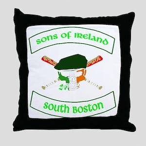 master logo southie Throw Pillow