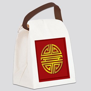 Longivity Canvas Lunch Bag