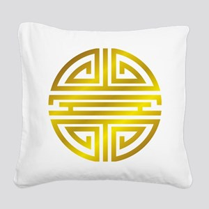 Longivity01 Square Canvas Pillow