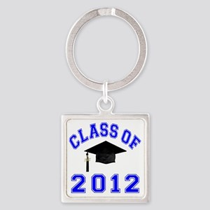CO2012 Cap Blue Square Keychain