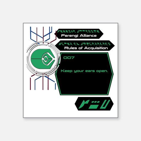 """FA007 Square Sticker 3"""" x 3"""""""