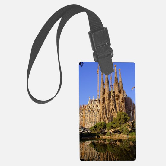 Funny Architecture Luggage Tag