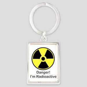 Radioactive Portrait Keychain
