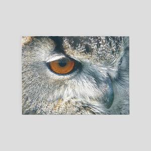 owl larg 5'x7'Area Rug