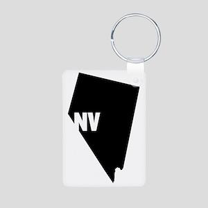 NV Aluminum Photo Keychain