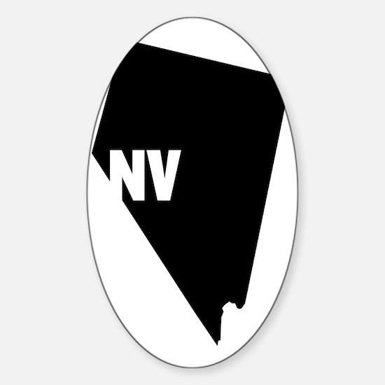 NV Sticker (Oval)