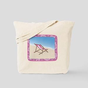 Beach-Chair-summer-10x10 Tote Bag