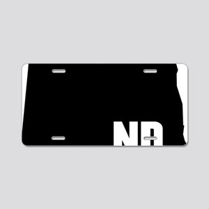 ND Aluminum License Plate