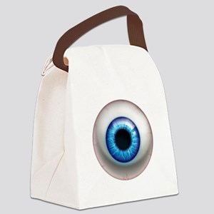 16x16_theeye_electric Canvas Lunch Bag