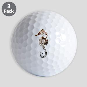Industrial Sea Horse Golf Balls