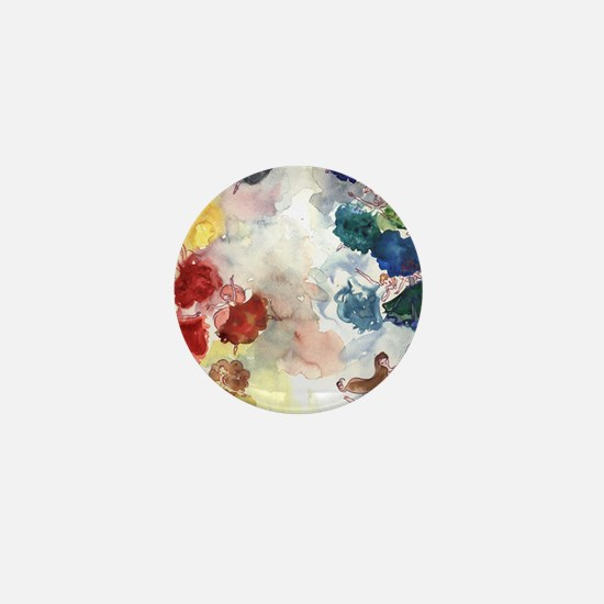 Watercolor Tutus Mini Button