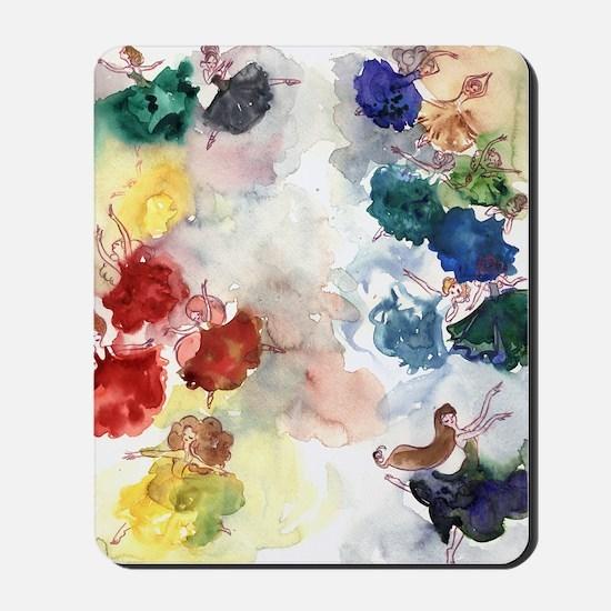Watercolor Tutus Mousepad