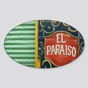 paradise Sticker (Oval)