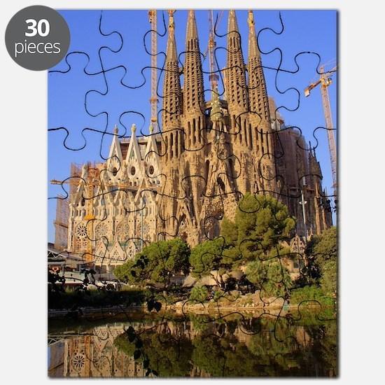 Cute Sagrada familia Puzzle