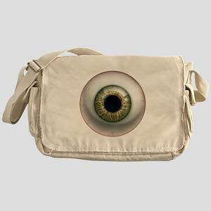 16x16_theeye_hazel Messenger Bag