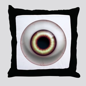 16x16_theeye_possessed Throw Pillow