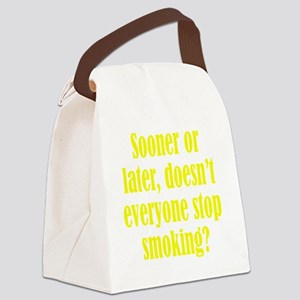 smoking3 Canvas Lunch Bag