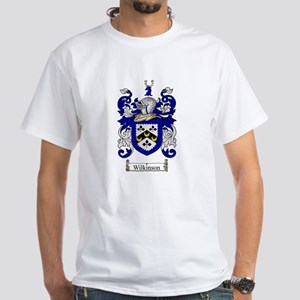 Wilkinson Coat of Arms Crest White T-Shirt