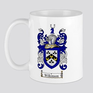 Wilkinson Coat of Arms Crest Mug