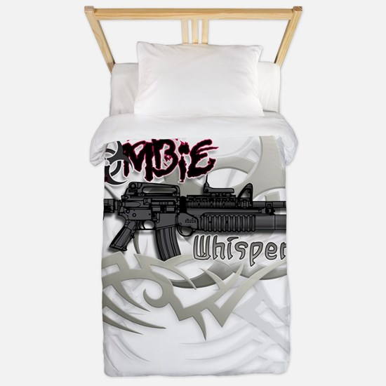 The Zombie Whisperer M16 Killer Twin Duvet