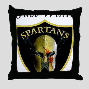 Just Win logo Throw Pillow