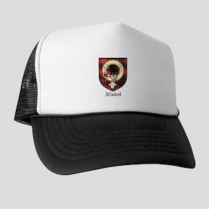 Nisbet Clan Crest Tartan Trucker Hat
