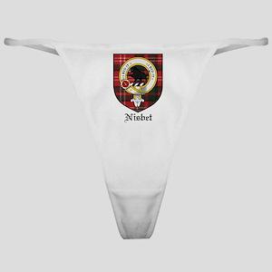 Nisbet Clan Crest Tartan Classic Thong