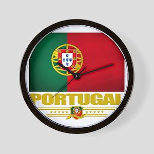 Portugal (Flag 10) Wall Clock